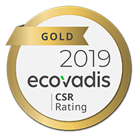 Ecovadis platinum badge