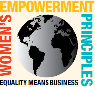 We support women's empowerment principles