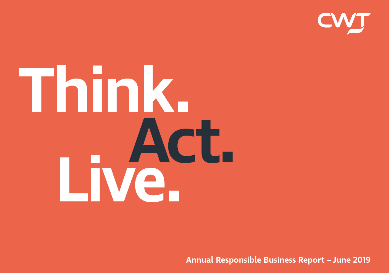 CWT Responsible Business Report 2018