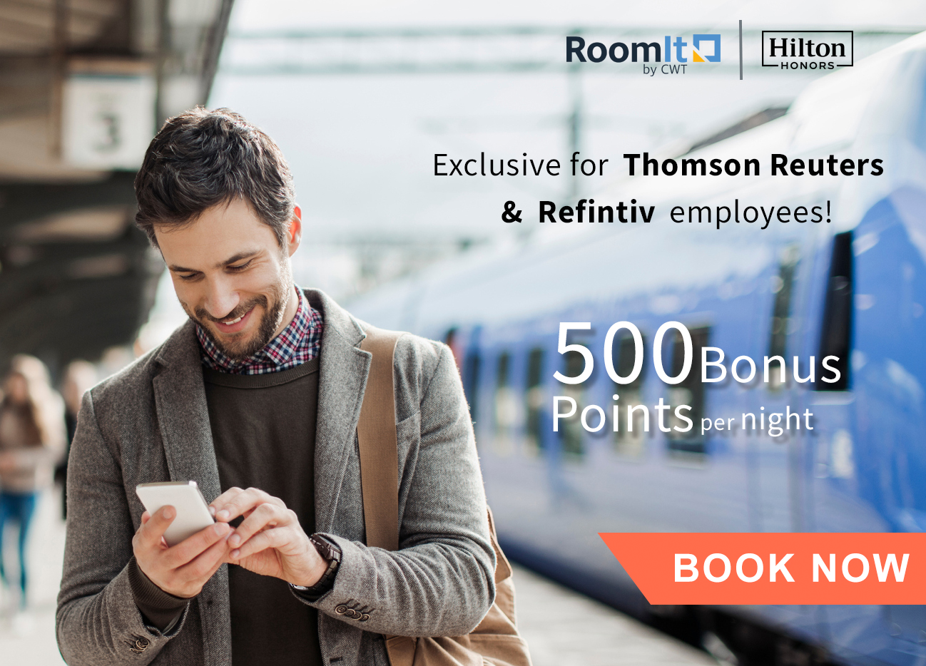 Exclusive offer for Employees of Thomson Reuters and Refinitiv